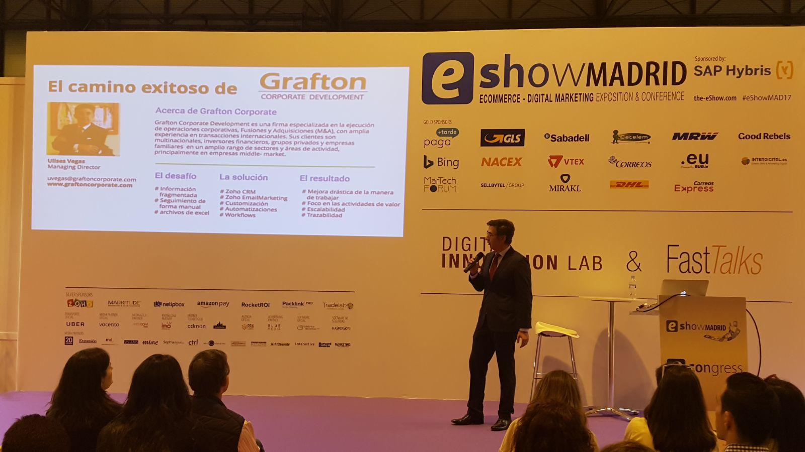 Grafton Corporate Development presentando en E-Show Madrid